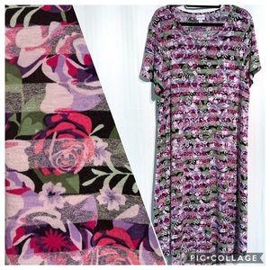 LuLaRoe Carly Swing Dress Size 2XL